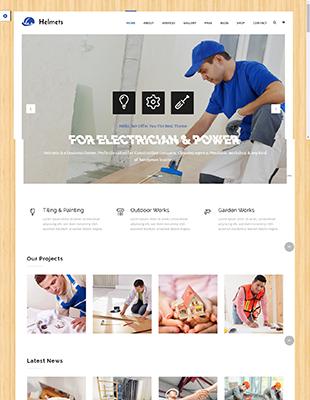 6 Wordpress Themes Für Elektriker Themingproject